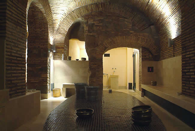 AcquaMadre Hammam Roma,the Tepidarium